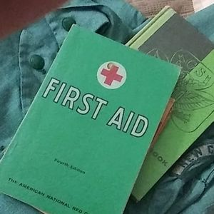1957 first aid fourth edition handbook